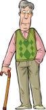 Homme plus âgé illustration libre de droits