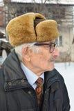 Homme plus âgé mélancolique Photo libre de droits