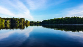 Homme Pond Royalty Free Stock Photo