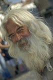 Homme portugais avec une barbe Photographie stock libre de droits