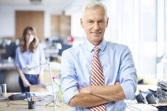 Homme professionnel supérieur exécutif Photos stock