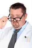 Homme rectifié en tant que docteur Image stock