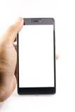 Homme retenant le téléphone intelligent Images stock