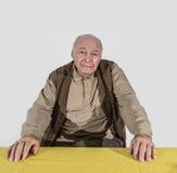 Homme retiré par personnes âgées Photographie stock libre de droits