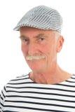 Homme retiré par portrait Images libres de droits