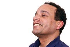 homme riant Images libres de droits