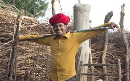 Homme rural photo stock