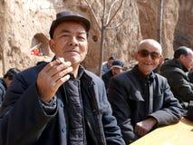 Homme rural de la Chine le vieil Images libres de droits
