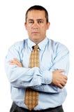 Homme sérieux d'affaires photos libres de droits