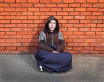 Homme sans foyer Images libres de droits