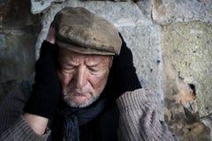 Homme sans foyer Photos libres de droits