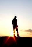 Homme seul Images libres de droits