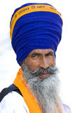 Homme sikh à Amritsar, Inde. Photographie stock