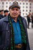 Homme simple dans un chapeau  Image stock