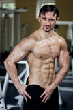 Homme sportif Image stock