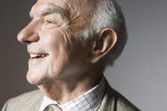 Homme supérieur de sourire photos libres de droits