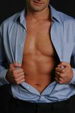 Homme superbe Photographie stock