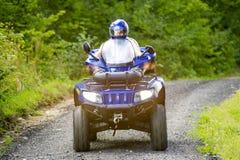 Homme sur ATV Image libre de droits