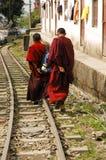 Homme tibétain Photos stock