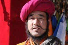 Homme tibétain Photographie stock libre de droits