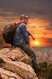 Homme - touriste photographie stock libre de droits