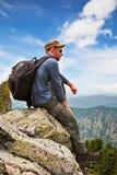 Homme - touriste photo libre de droits