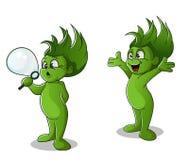 Homme vert Photo libre de droits