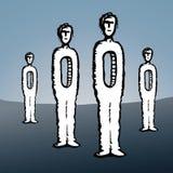 Homme vide (vecteur) Image libre de droits