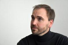 Homme, visage de s photographie stock libre de droits