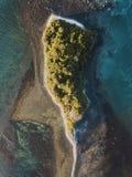 Hommelmening van klein eiland stock afbeelding