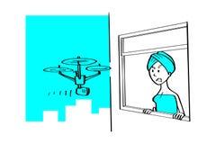 Hommels en ongepast gebruik, storing, onwettig, Regels het gebruiken vector illustratie