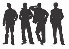 Hommes illustration de vecteur