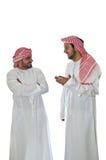 Hommes arabes Images libres de droits