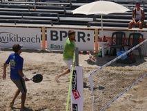Hommes 2016 d'†de championnat du monde de tennis de plage d'ITF les «doublent le qualificateur Images stock