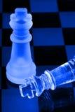 Hommes d'échecs Photographie stock