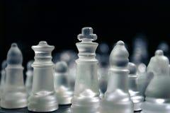 Hommes d'échecs Photographie stock libre de droits