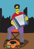 hommes d'accordéon Images stock