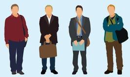 Hommes d'affaires illustration libre de droits