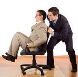 hommes d'affaires détendant deux Photo stock