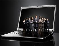 Hommes d'affaires d'hommes d'affaires d'homme d'affaires d'affaire-travail d'équipe d'affaires de fond Photographie stock