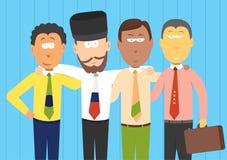 Hommes d'affaires de BRIC/futures économies Illustration de Vecteur