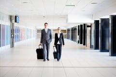 Hommes d'affaires en voyage Photographie stock