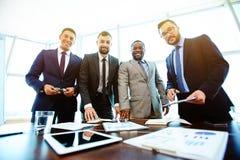 Hommes d'affaires modernes Photos libres de droits