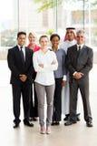Hommes d'affaires multiraciaux de groupe Images libres de droits
