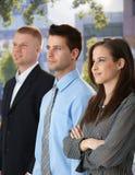 Hommes d'affaires réussis et confiants Photographie stock libre de droits