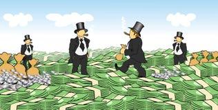 Hommes d'argent illustration libre de droits