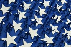 Hommes d'armée Photo libre de droits
