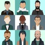 Hommes d'avatar illustration libre de droits