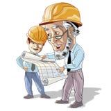Hommes d'ingénierie Image libre de droits