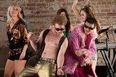 Hommes de danse Image libre de droits